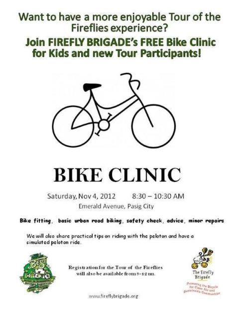 Bike Clinic NOV 4